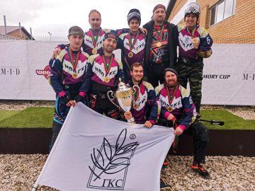 Команда «ГКС» по пейнтболу завоевала Кубок «Чингисхана»