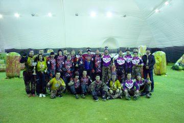 Команда «ГКС» вышла в третий этап кубка Поволжья по пейнтболу