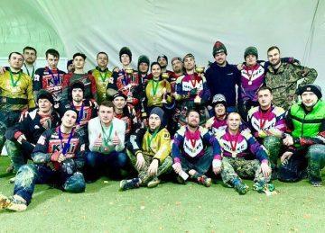 Мы — чемпионы Зимнего кубка Поволжья РТ по пейнтболу