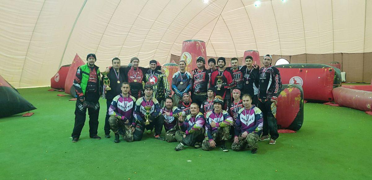 НПП «ГКС» — призер зимнего Кубка Поволжья по пейнтболу