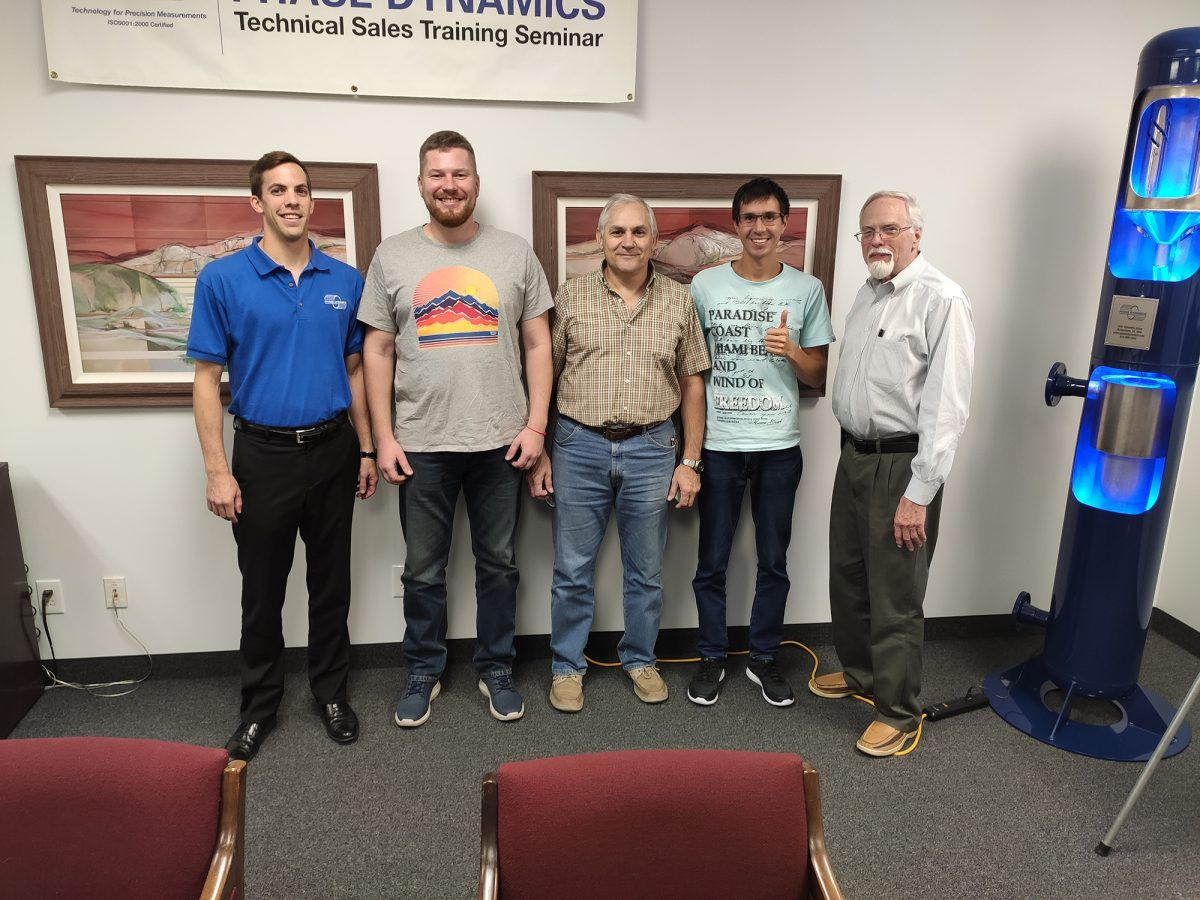 Сотрудники «ГКС» прошли обучение в PHASE DYNAMICS (США)